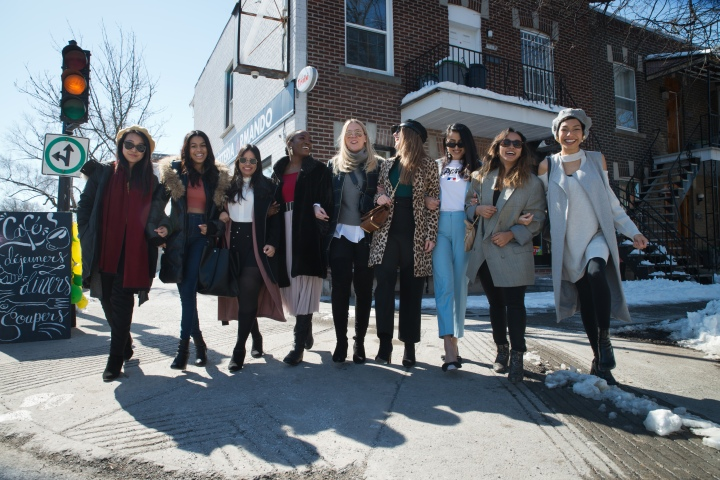 A Sneak- Peak of Last Week Meeting with Montreal Bloggers